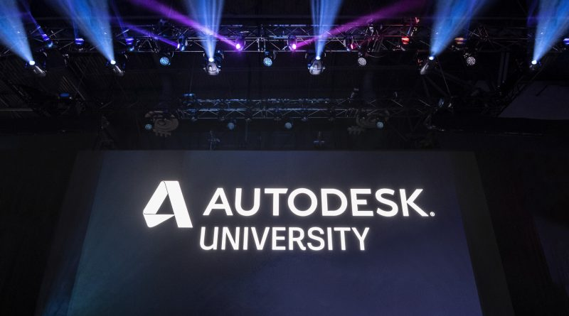 Autodesk University 2020 Dates Announced
