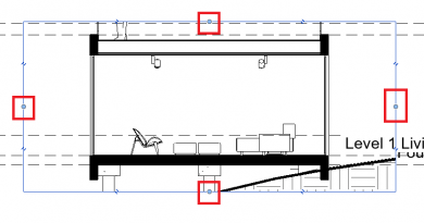 Revit Creating Section View